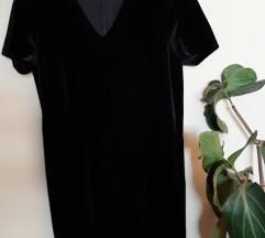 Plisana little black dress