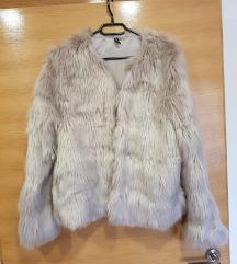 Krznena jakna bundica