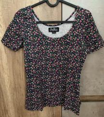 Majica kratkih rukava cvjetnog uzorka