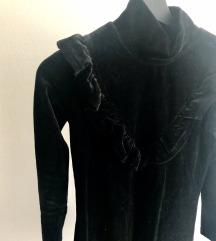 Iggy plisana crna haljina