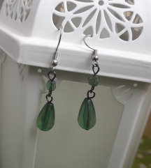 Zelene naušnice suzice