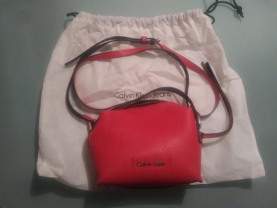 calvin klein roza torba