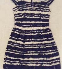 Dorothy Perkins crno-bijela haljina