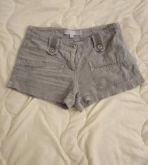 Kratke lanene hlače