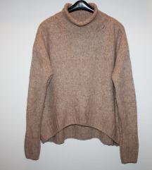 H&M loose džemper - vuna i alpaka