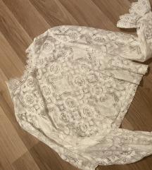 Zara cipkana bluza