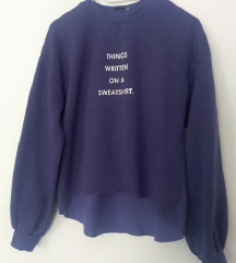Zara ljubičasta sweatshirt