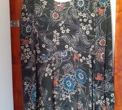 Ženska haljina Mango - dugačka, dugi rukavi