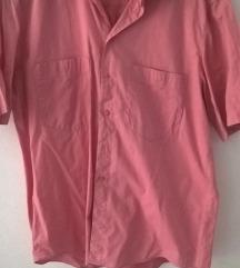 Roza muška košulja