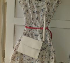 MANGO haljinica + remen+ torbica sa postarinom
