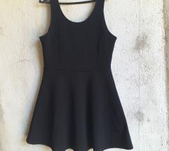 H&M crna deblja sketer haljina -NOVA L
