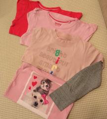 LOT 4 majice d.r. vel.110-116 4-6g.