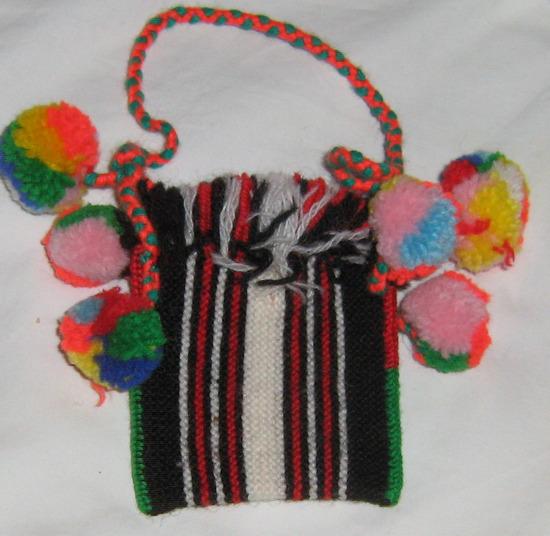 torbica i priglavci minijatura ručni rad