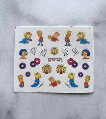 Naljepnice za nokte - Simpsoni