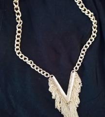 Ogrlica V ženska