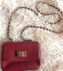 Original Moschino torba tamnocrvena