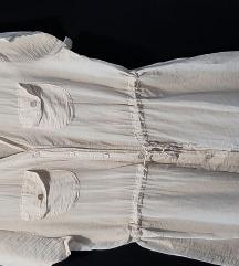 Pamučno-svilena bluza-tunika