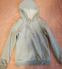 Sivi hoodie