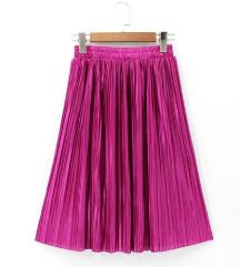 Magenta suknja