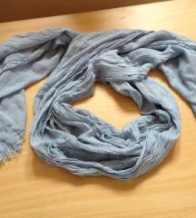 šal/marama baby plave boje
