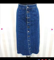 Jeans suknja akcija