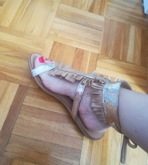 Kožne sandale, sada snižena cijena!
