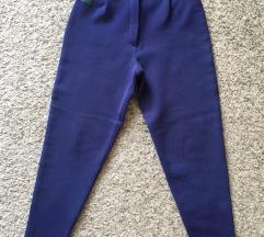 Vintage Plave termo tajice vel S-M 36-38