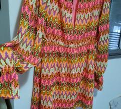 Prettylittlething šarena haljina%