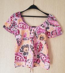 Sisley ženska majica, lagana, prozračna