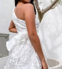 Asos kratka bijela haljina