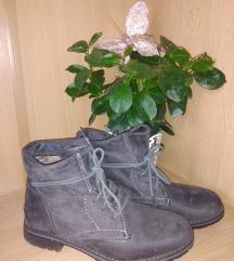 Tamno sive gležnjače/cipele