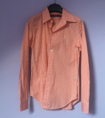 Ralph Lauren košulja prugasta slim narančasta S 36