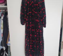 NOVA zara haljina cipkasta