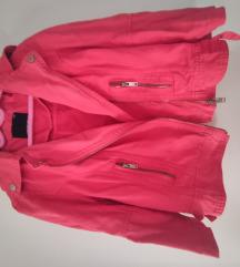Traper roza jaknica rukavi do lakta