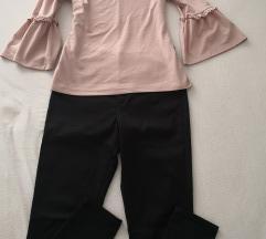 Lot majica i hlače Orsay vel. 40