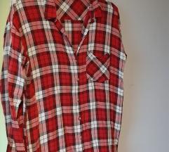 H&M karirana crvena košulja