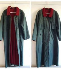 Dugi smaragdni kaput, kao novi