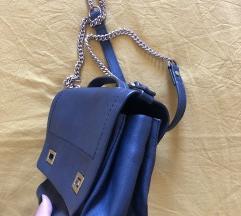 ZARA tamno plava torbica
