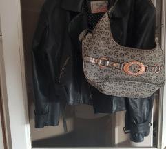 Retro kozna jakna