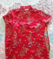 Kineska Haljina  Crvena 36