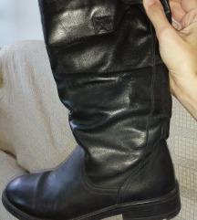 Čizme Mass kožne