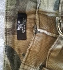 Bershka cargo hlače M