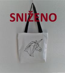 Unicorn bijela torba 🎀 7̶5̶ ̶k̶n̶
