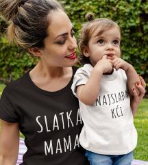 Komplet Slatka mama najslađa kći