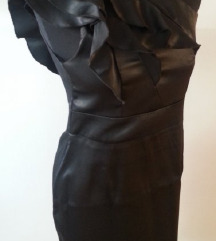 Crna svečana haljina 36 38