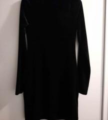 H&M baršunasta haljina