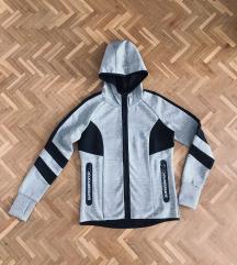 Nova Super Dry siva hoodie trenerka