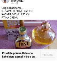 Parfem original kasmir, CAVALLI