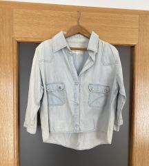 Pamučna jeans košulja