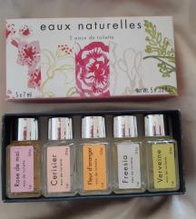 Fragonard Eaux Naturelles mini set 5x7ml